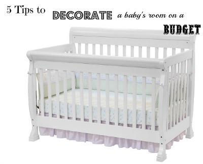 baby's room on a budget