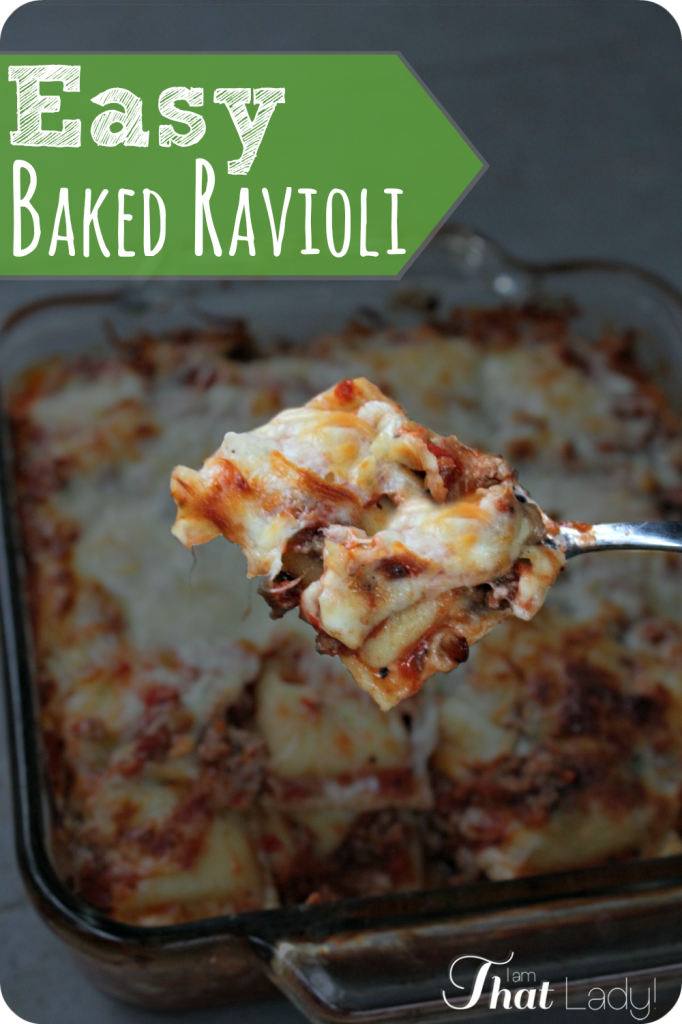 Looking for an easy dinner that the whole family will eat? Then you NEED to check out this Baked Ravioli! Feed your family for under $10!