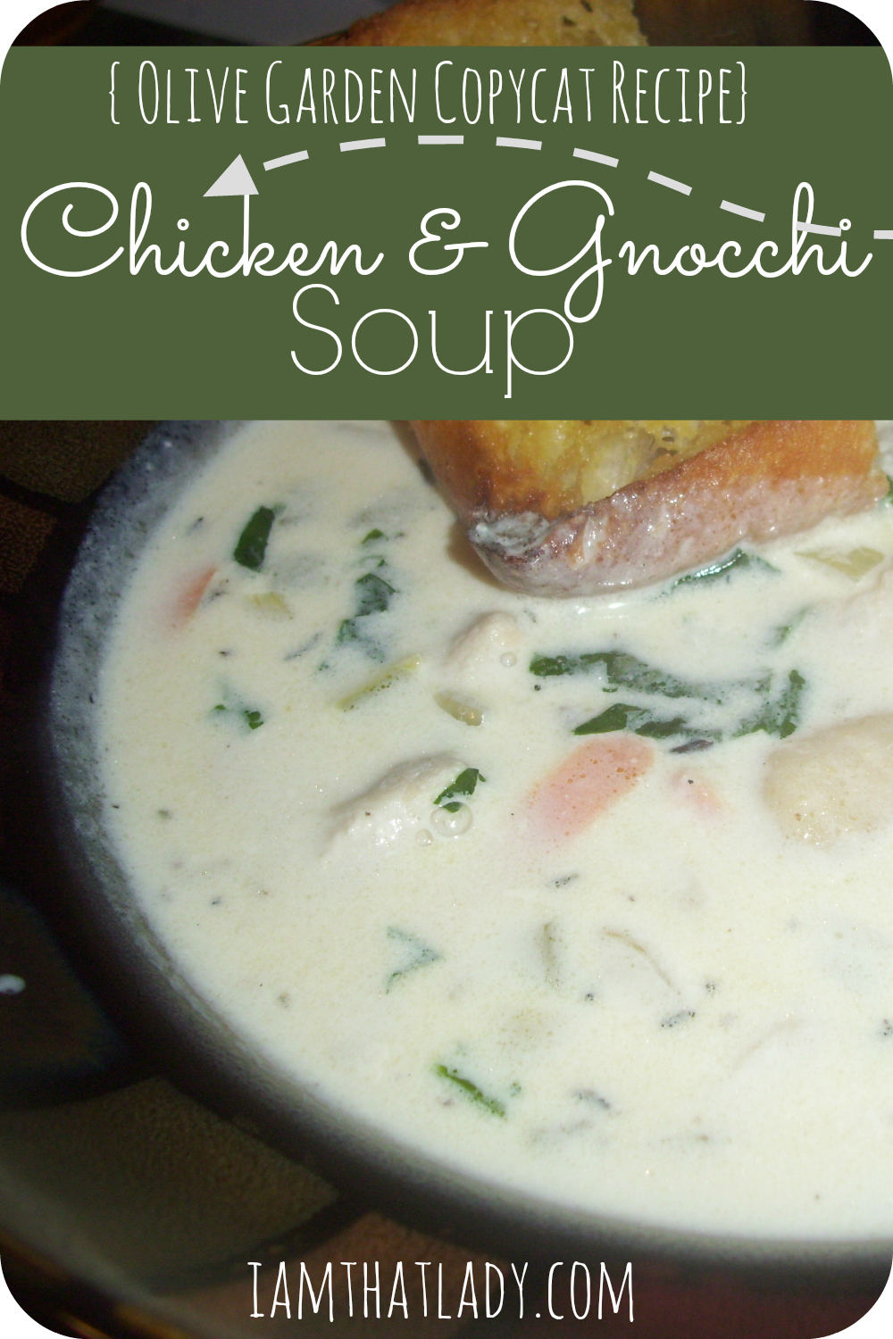 Olive Garden Chicken And Gnocchi Soup Recipe