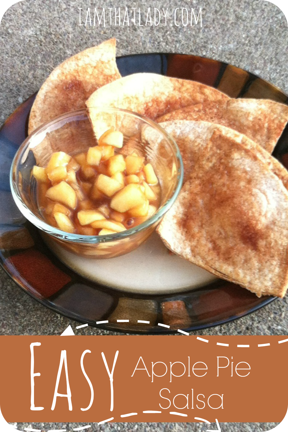 Here is a great recipe for Apple Salsa, it is super simple to make and it can also be used as an apple pie filling!