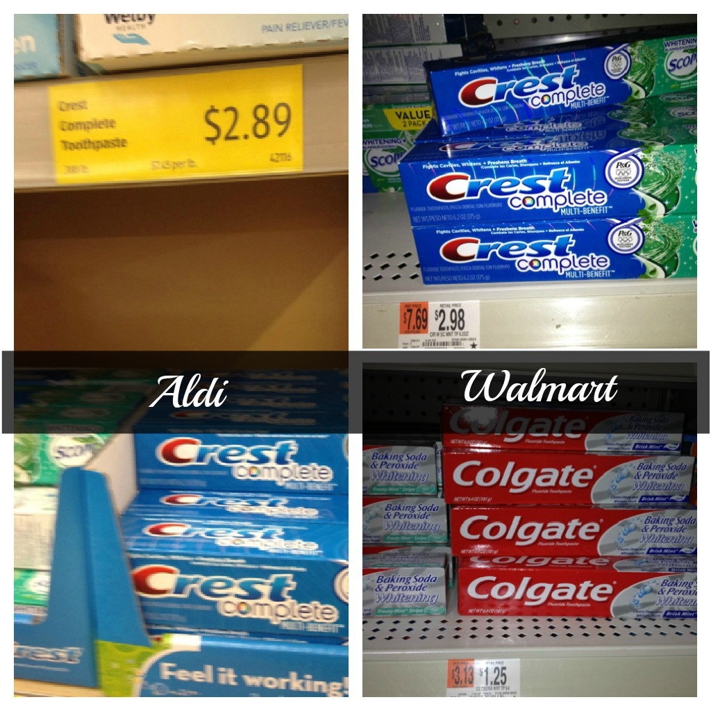 Aldi vs  Walmart - which one is really less expensive than