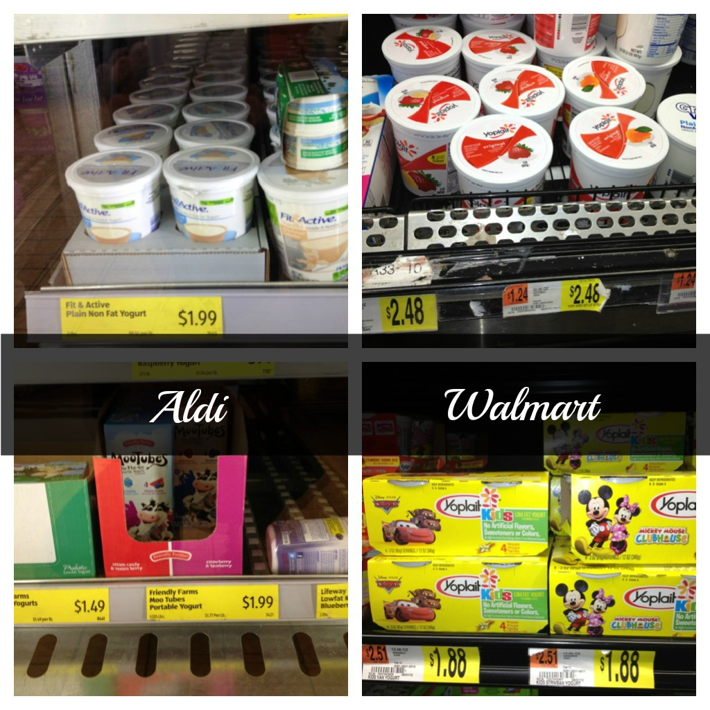 Aldi vs. Walmart - which one is really less expensive than the ...