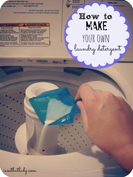 The benefits of making your own laundry detergent are HUGE! Here is a simple recipe and how to post about how to make your own in a few simple steps.