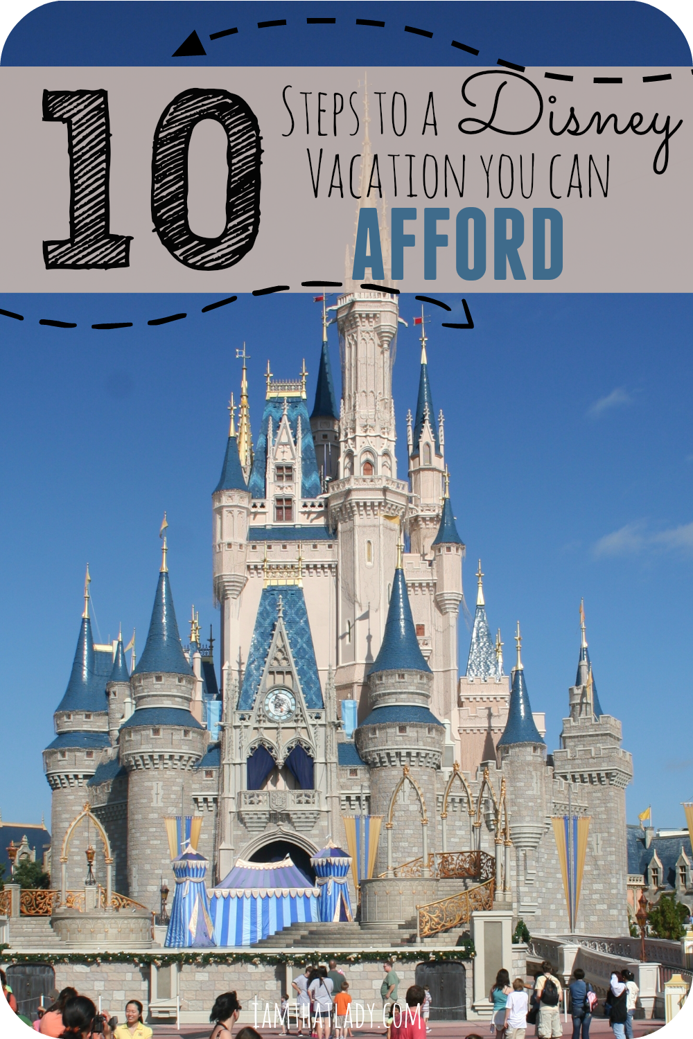 Are you wondering how to plan a Disney vacation that you can afford? It really doesn't have to be super expensive, so here are my secret 10 steps to a Disney vacation that you can afford!
