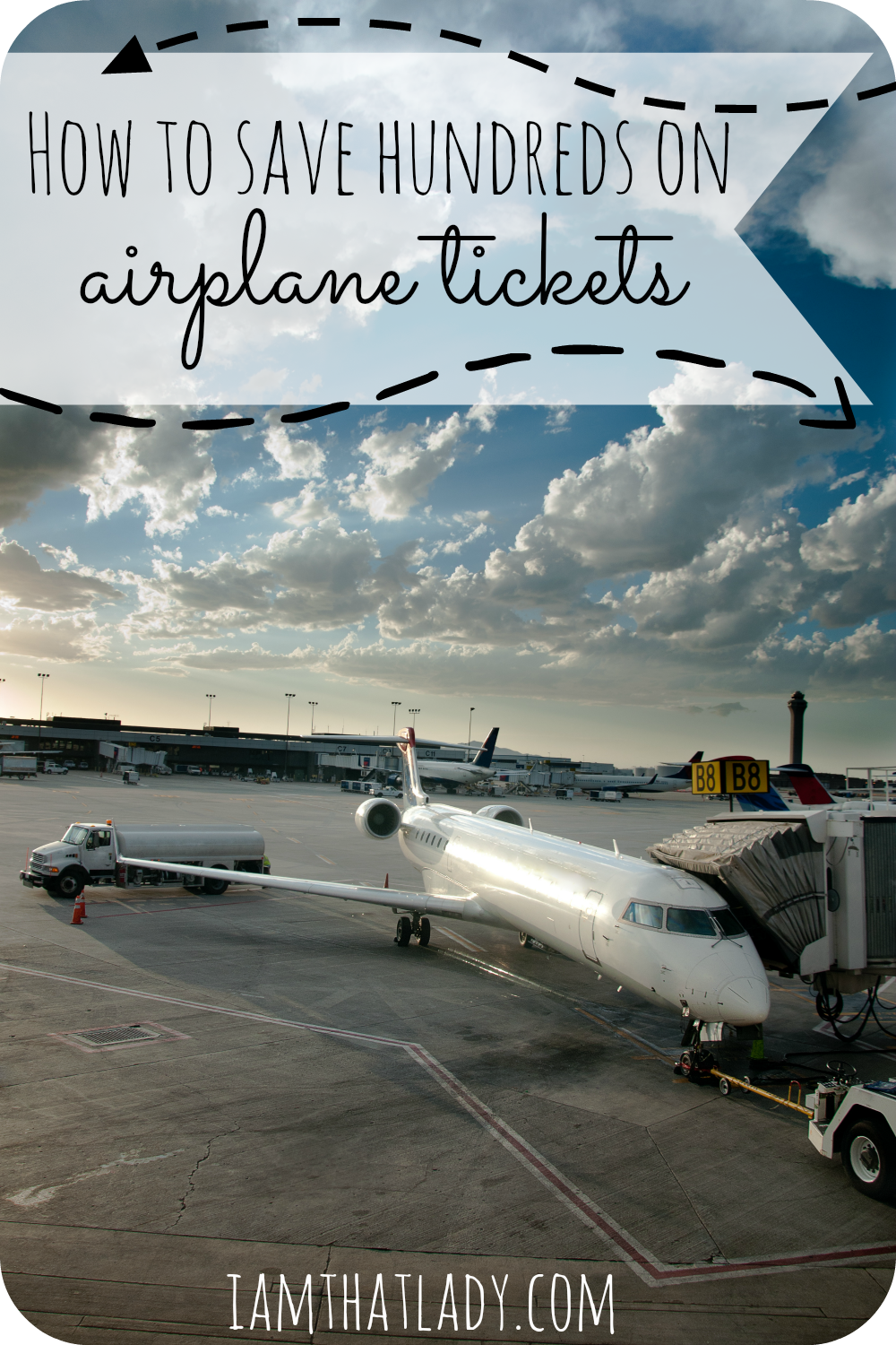 Do you want to save money on airplane tickets? Here are 10 ways to save hundreds per ticket!