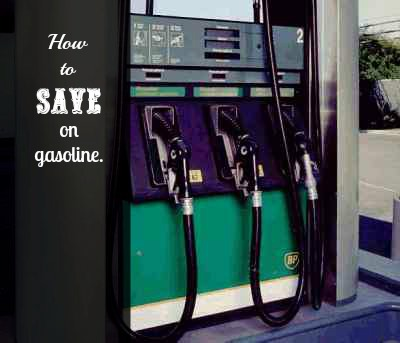 how to save on gasoline