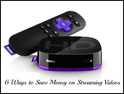 save on steaming videos