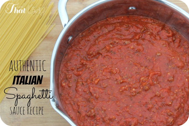 Easy recipes pasta sauce