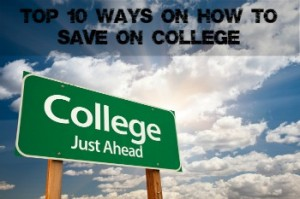 how to save on college