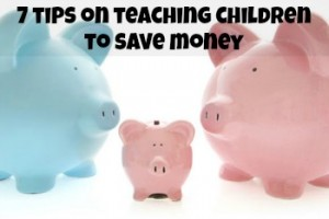 teaching children to save money