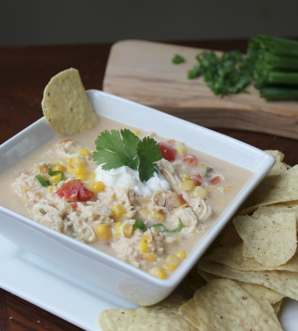Are you always looking for a delicious meal for either a party or maybe just at home with your family This Mexican Chicken Corn Chowder can be eaten fresh, or frozen as a freezer meal. This is an AMAZING recipe!