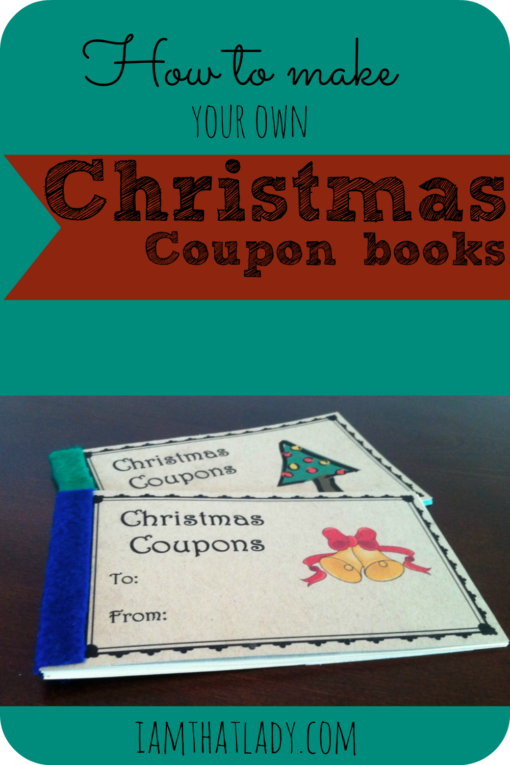 photograph about Printable Christmas Books known as Printable Xmas Coupon booklet