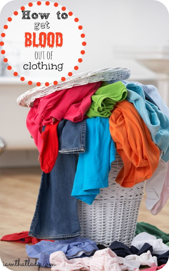 Do you have blood stains on your clothes? Here is a simple tip on how to get it out of your clothes.