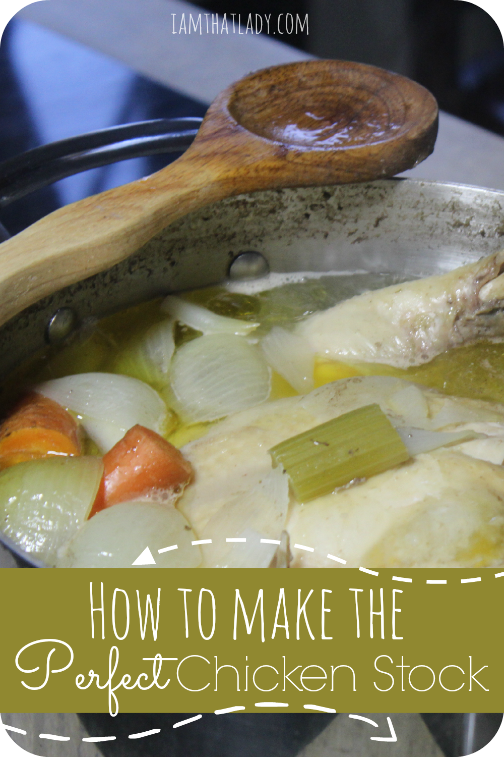 Are you looking for an easy and inexpensive chicken stock recipe?