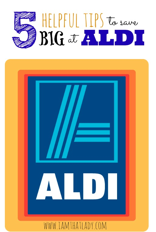Are you wondering what all the fuss about Aldi shopping is? Here are 5 helpful tips to save BIG at Aldi!