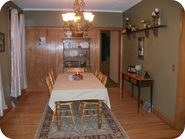 Before picture of my dining room!