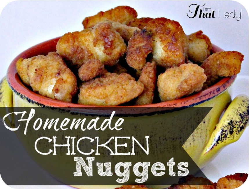 Your kids will LOVE these Chicken Nuggets! They're easy, cheaper and WAY better than fast food. And most importantly, there's no mystery ingredients here!