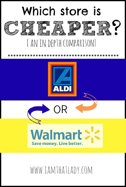 Aldi Vs Walmart Which One Is Really Less Expensive Than The Other
