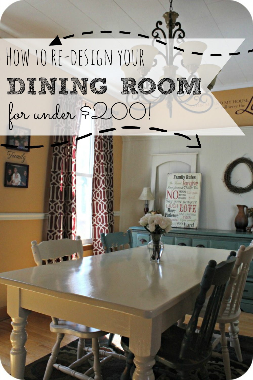 Are You Looking For Ideas On How To Re Decorate Your Dining Room For Less