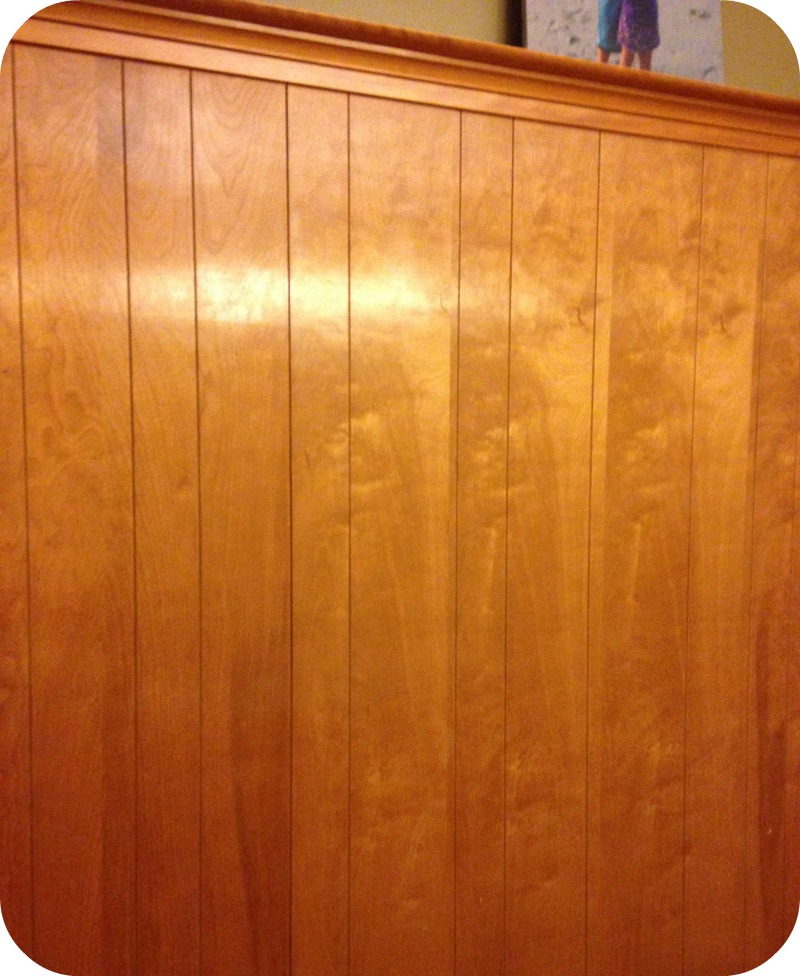 How to easily paint over wood paneling - DIY Home Repair Hack: Easily Paint Over Wood Paneling