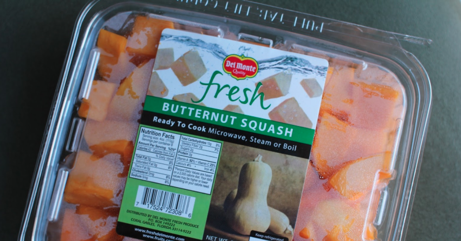 packaged butternut squash