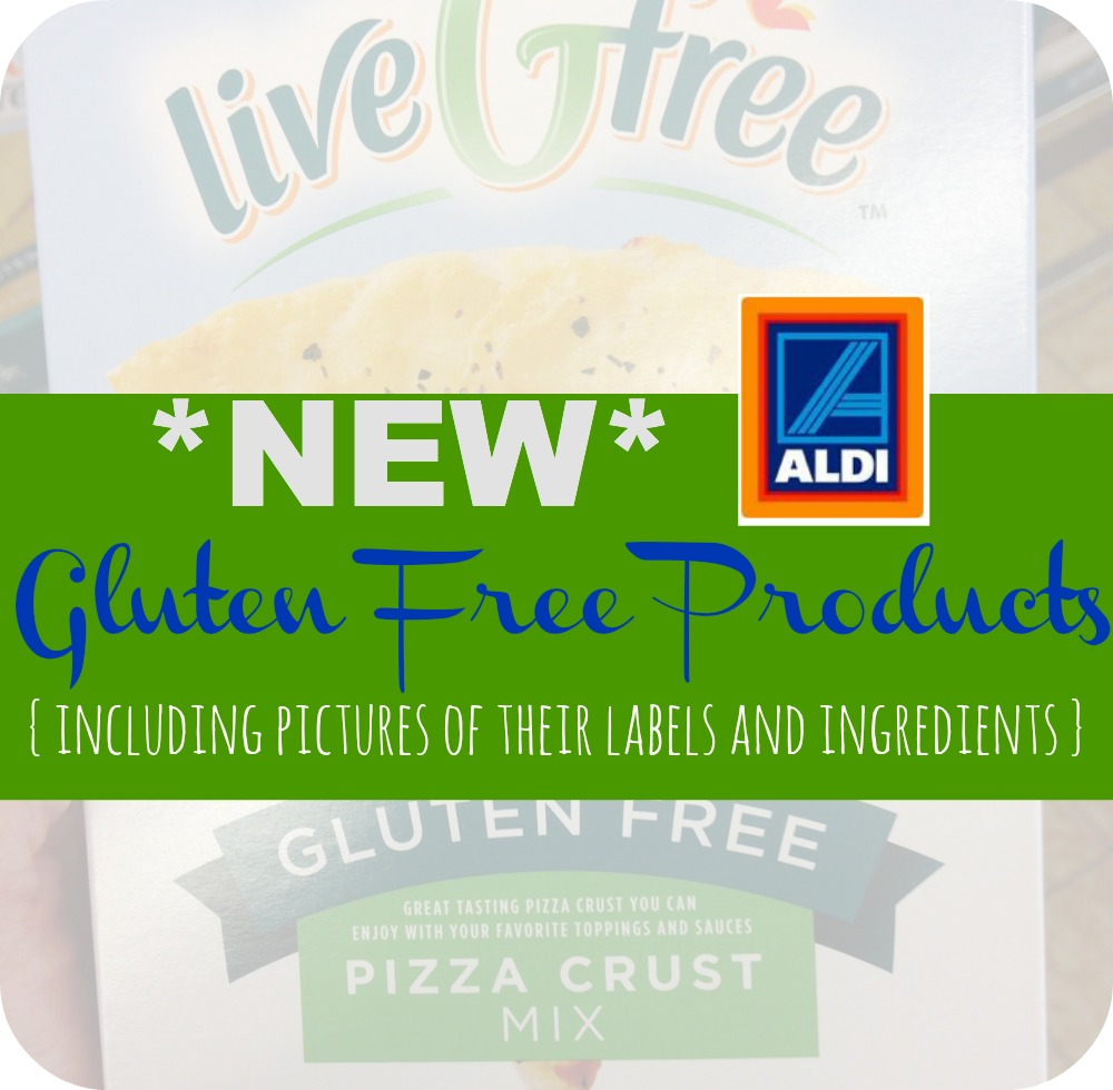 aldi u0026 39 s new gluten free products and nutritional information