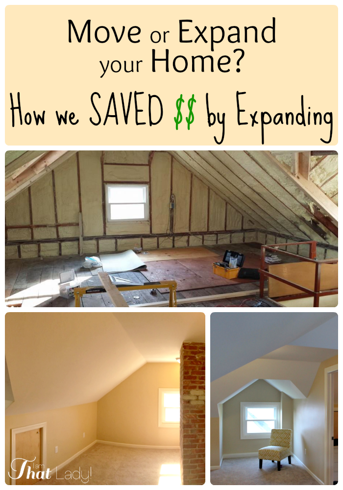 Are you wondering how you can save money by renovating instead of moving? Here is a breakdown of how we saved money doing just that.