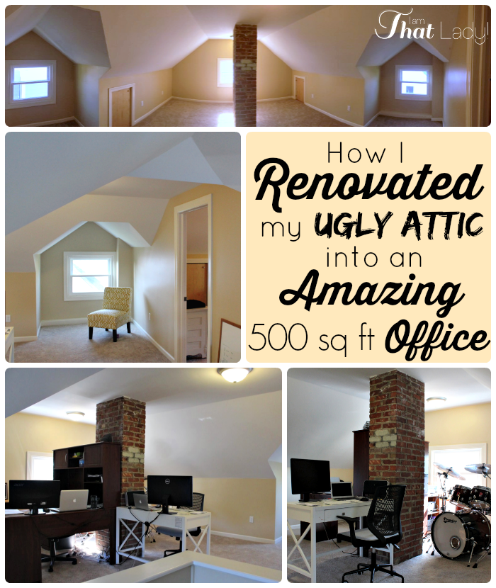 Renovated Our Attic
