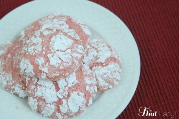 strawberry cake cookies are so easy to make