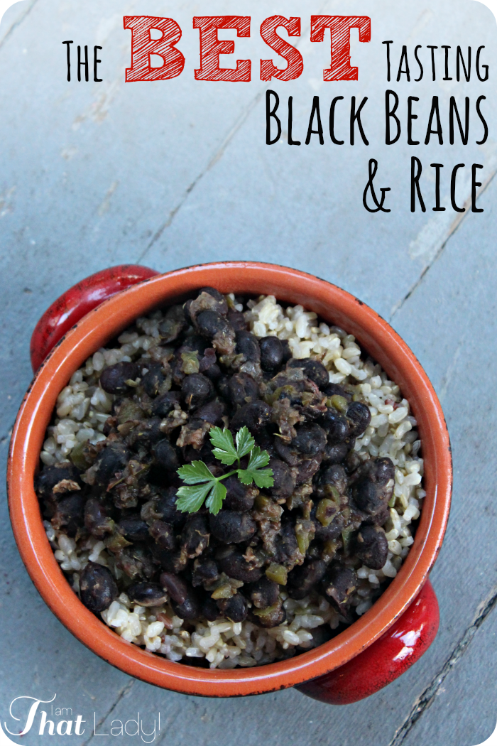 recipe: easy rum-flavored black beans and rice [32]