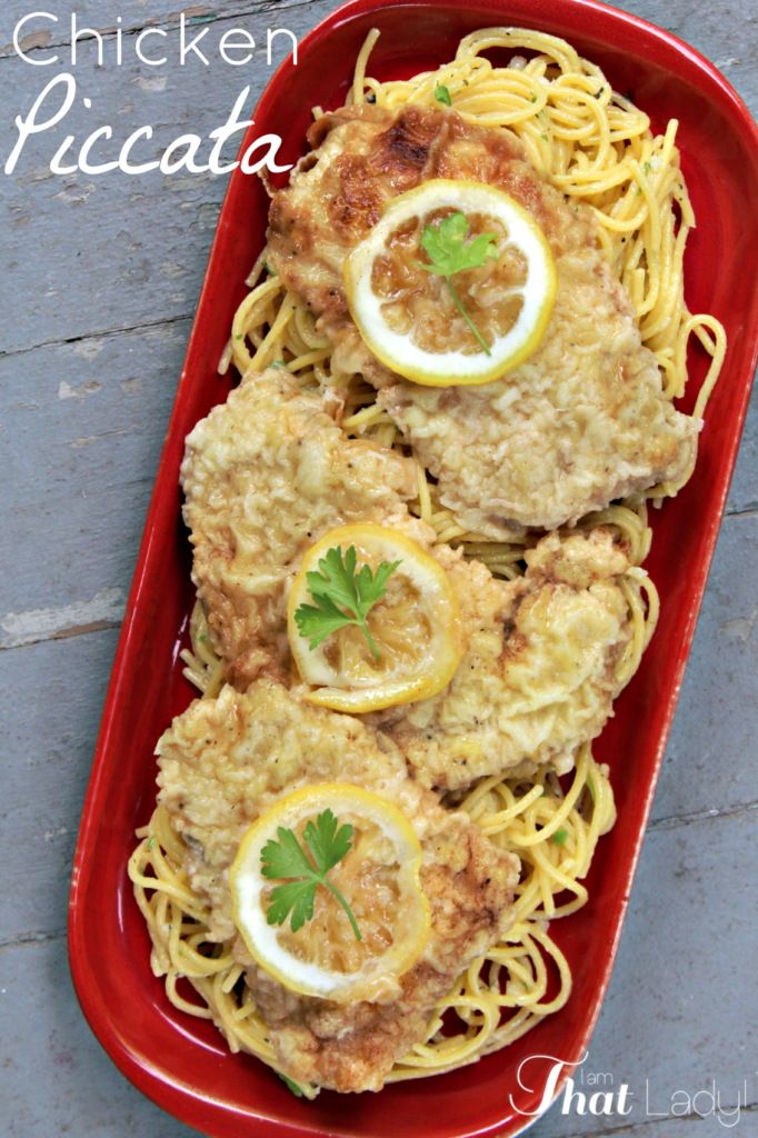 Have you ever tasted the buttery & lemony goodness that is Chicken Piccata? You need to check out this EASY recipe to make it yourself!