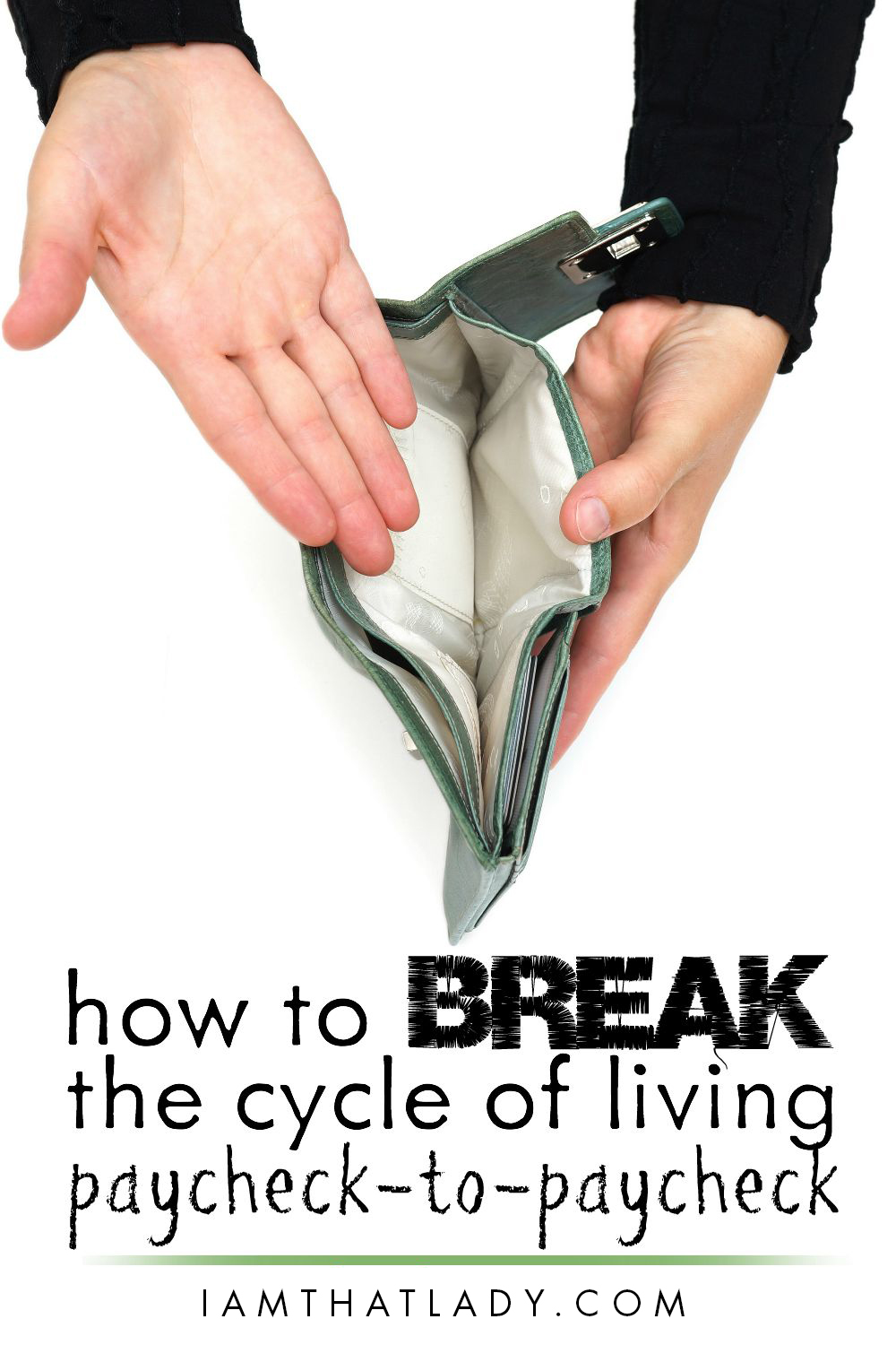 paycheck to paycheck living  how to break the cycle