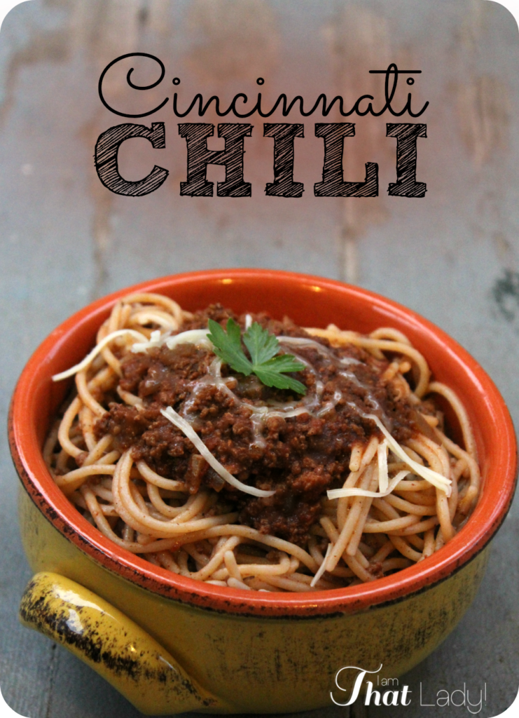 Have you ever tried the AMAZING flavors of Cincinnati-style chili? Wow... this recipe tastes just like the Skyline restaurant that made it famous! You NEED to try this!