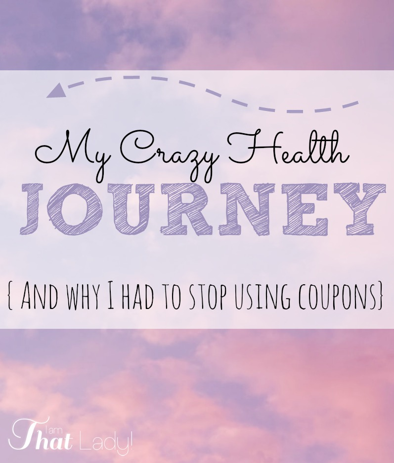 my health journey and why i had to stop using coupons