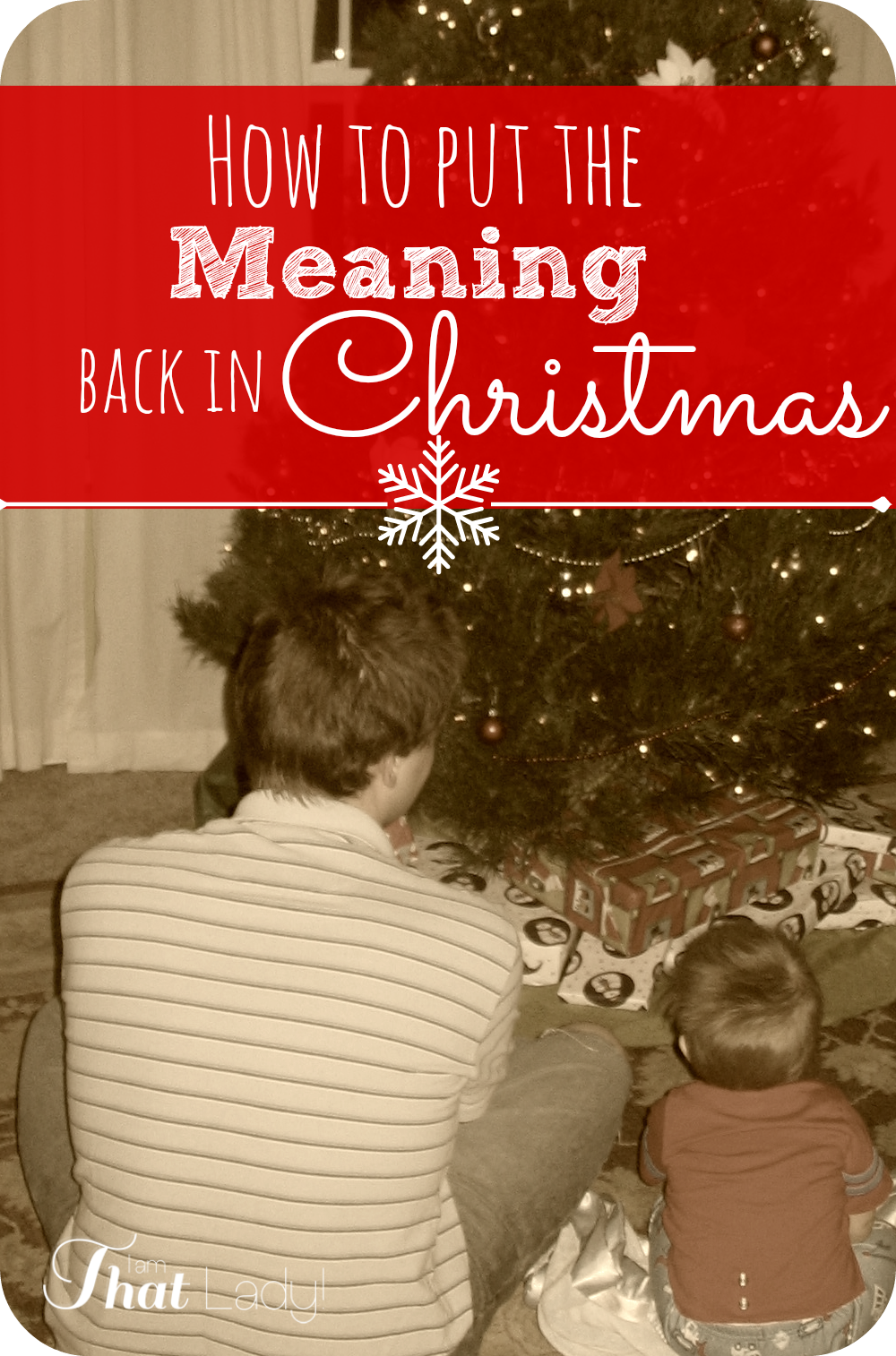 Are you sick and tired of going broke every Christmas only to have a gift giving hangover in January?  This year I strive to put the meaning back in Christmas and hope you will join me too! Head on over to see this 3 step challenge and join me!