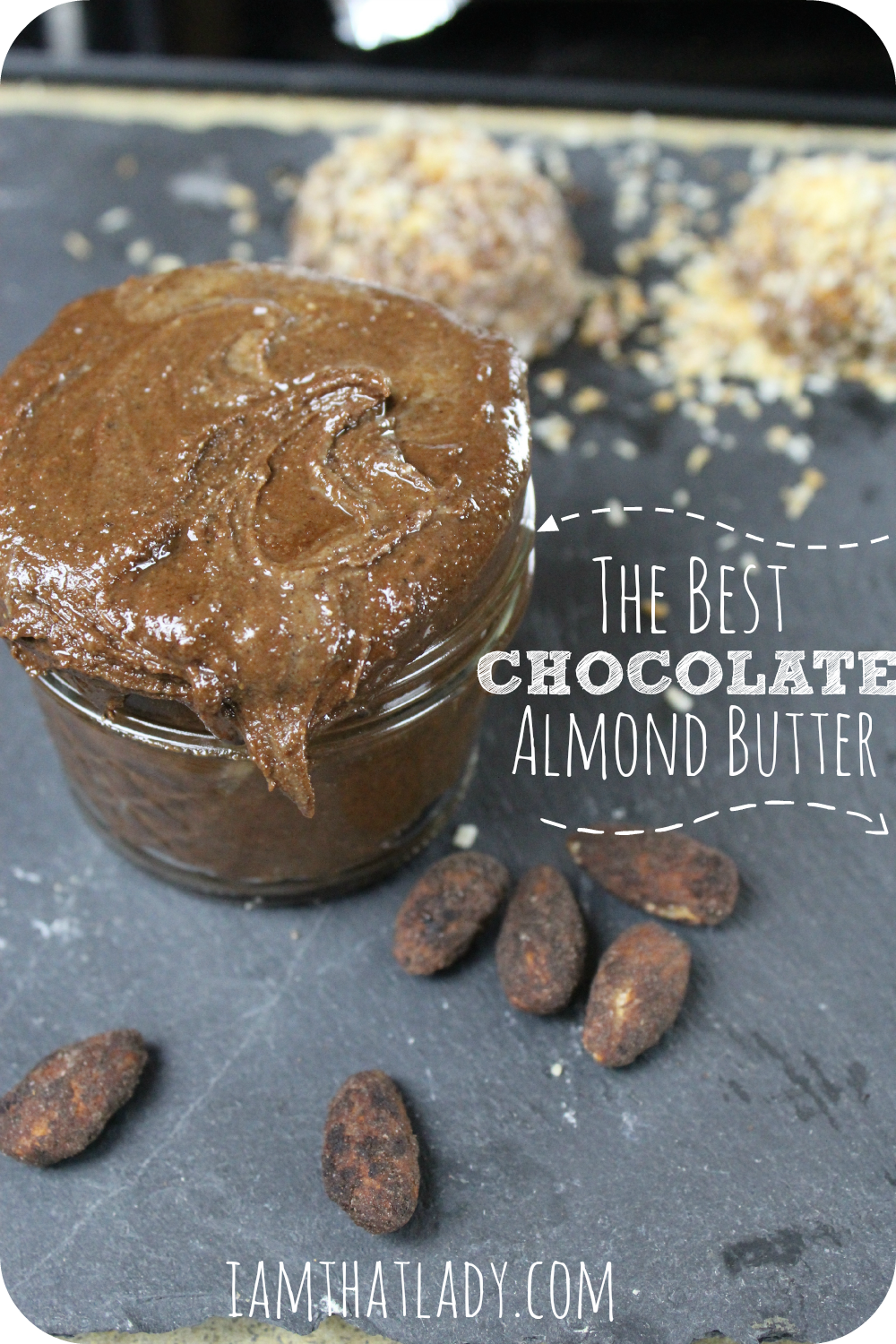 If you love Homemade Almond Butter - then you are going to love this chocolate almond butter recipe. I love dipping apples in this - it ads just a little more sweetness! This recipe is quick and easy too!