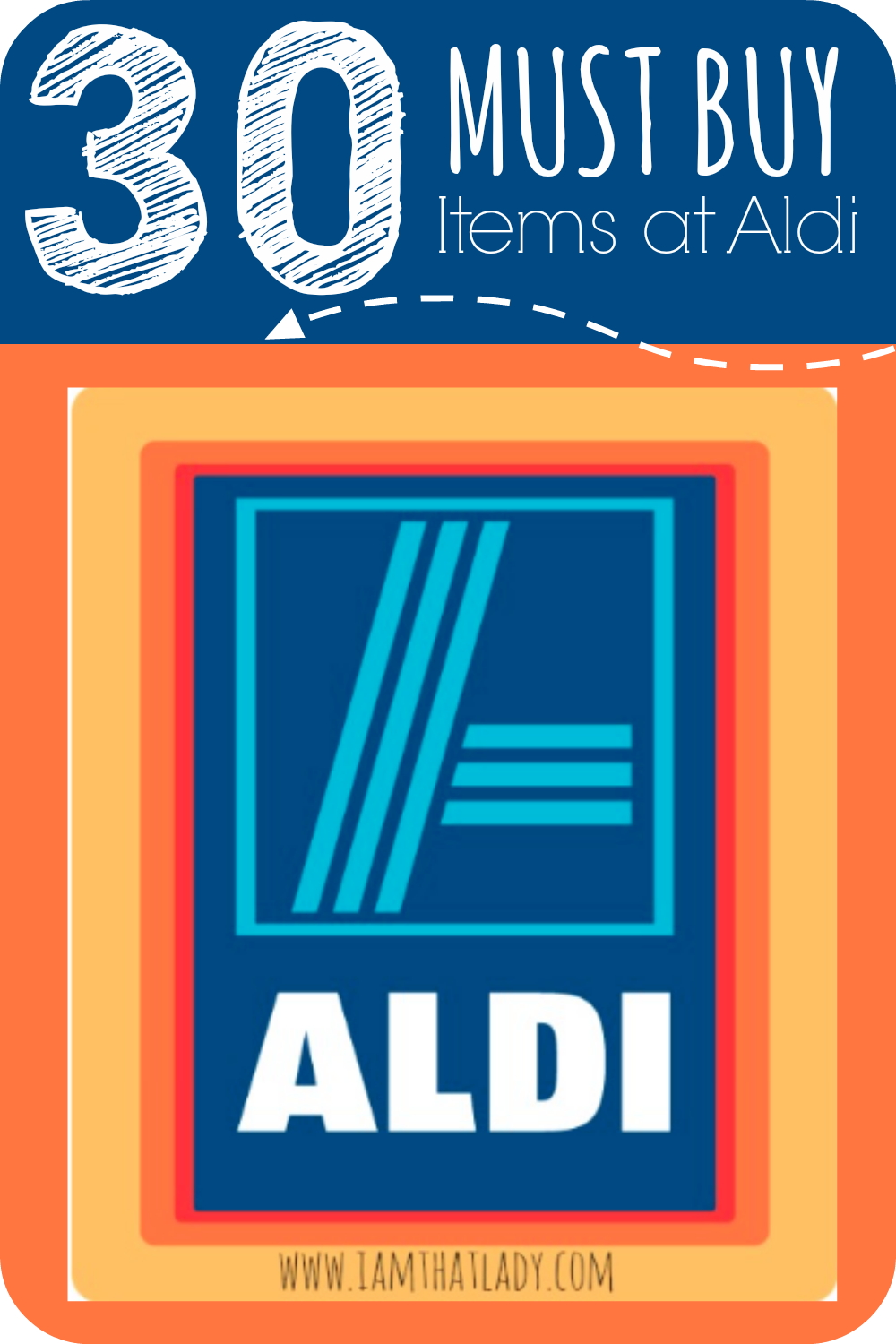 If you've never shopped at Aldi you may be wondering what is good there or what to buy. Here is a list of 30 MUST BUY items at Aldi. Ranging from Almond Butter, Cheese Sticks, Coconut oil, and many more!