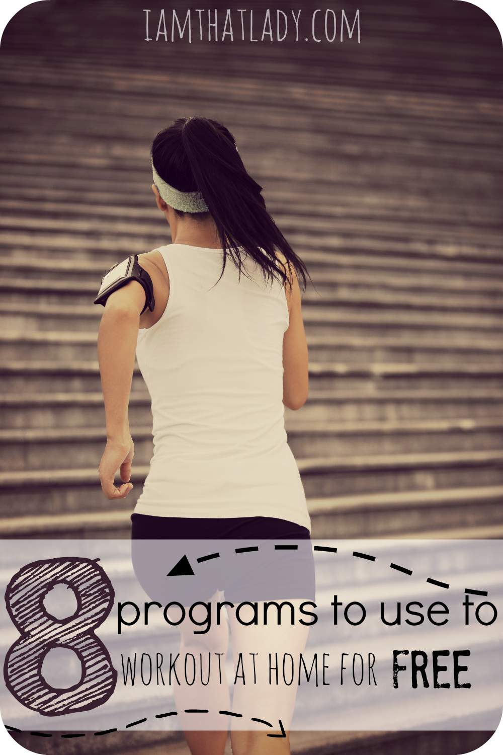 I always have the best intentions of working out, but let's face it...Being a mom of four makes it hard for me to afford the cost of a gym membership. Here are eight programs that I've found that are awesome (and free) ways to workout from the comfort of my home in 15 minutes or less!
