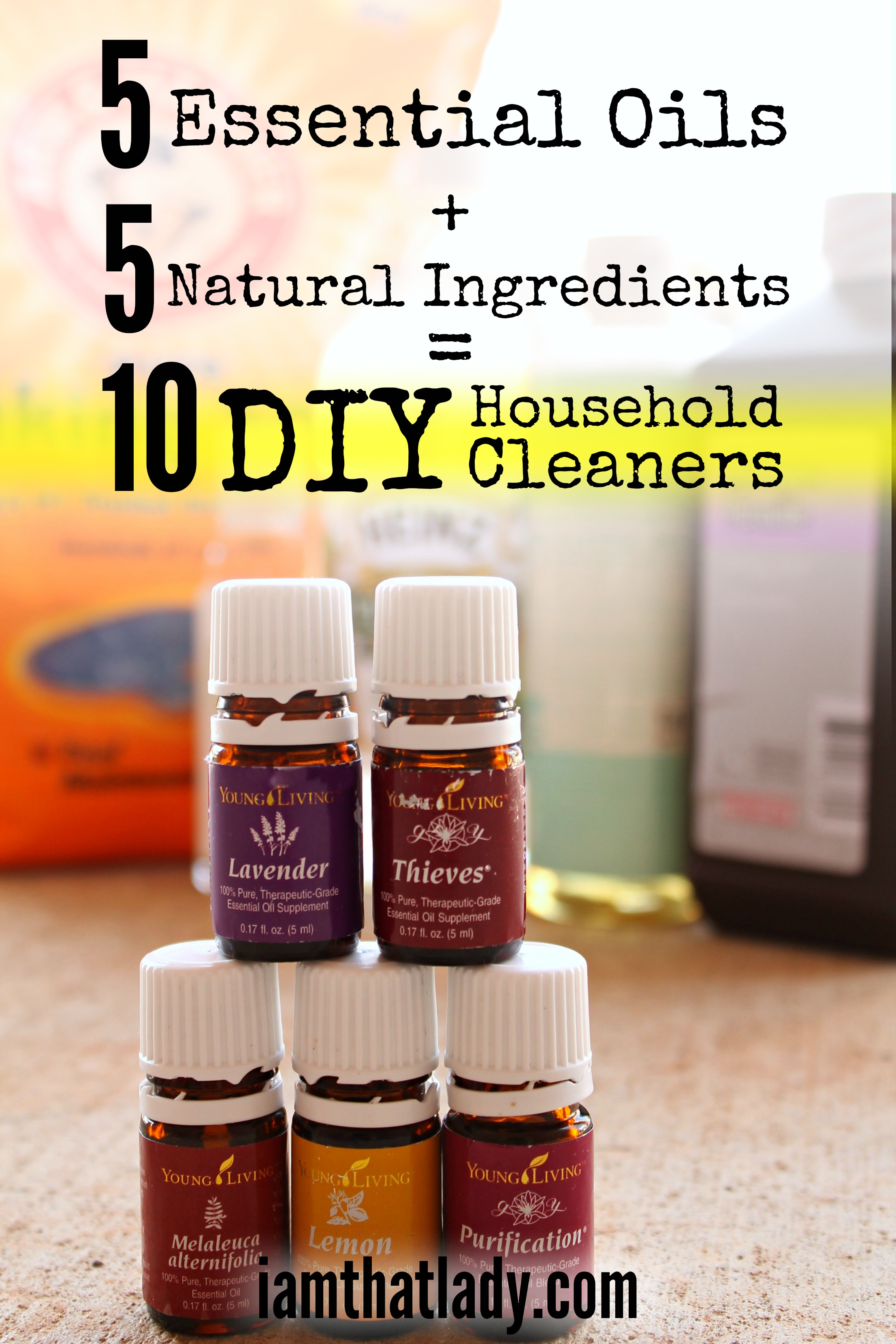 How To Make Your Own Natural Household Cleaners