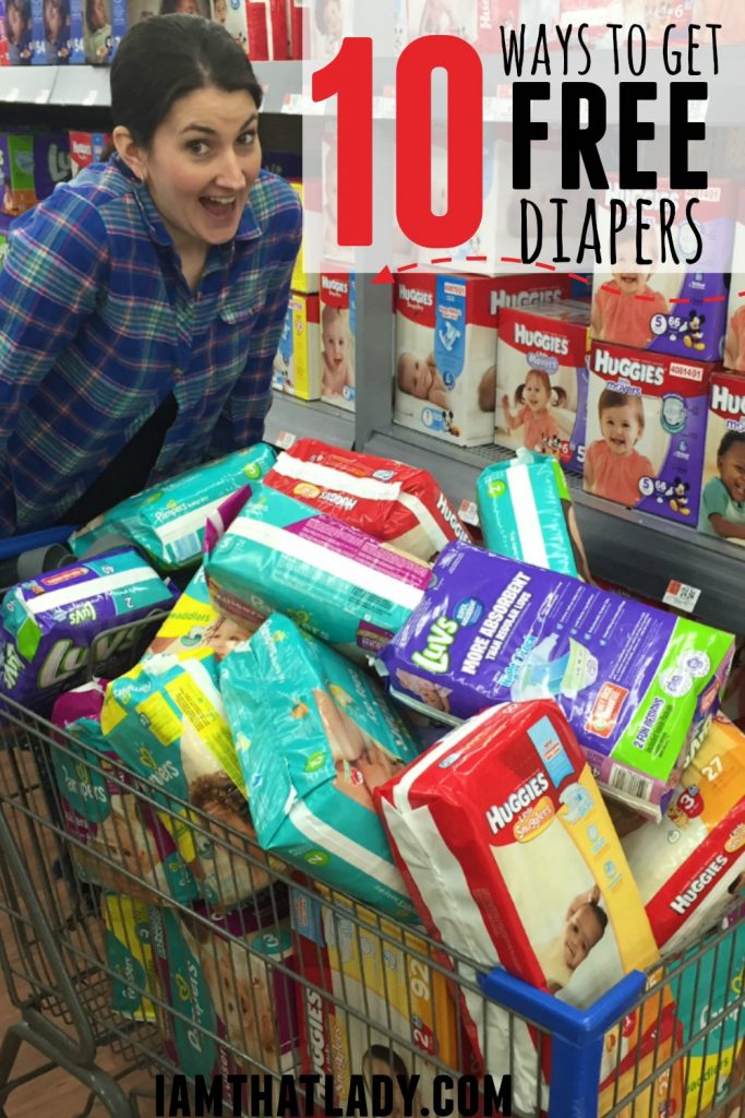 10 Ways to Earn FREE Diapers