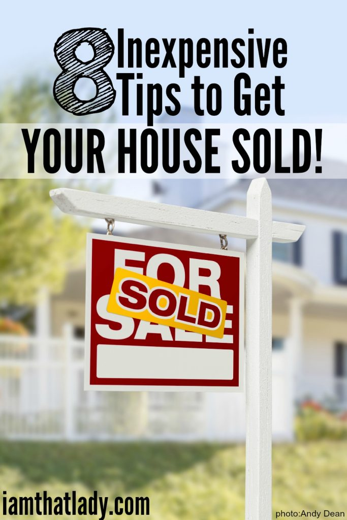 8 Tips to get your house Sold