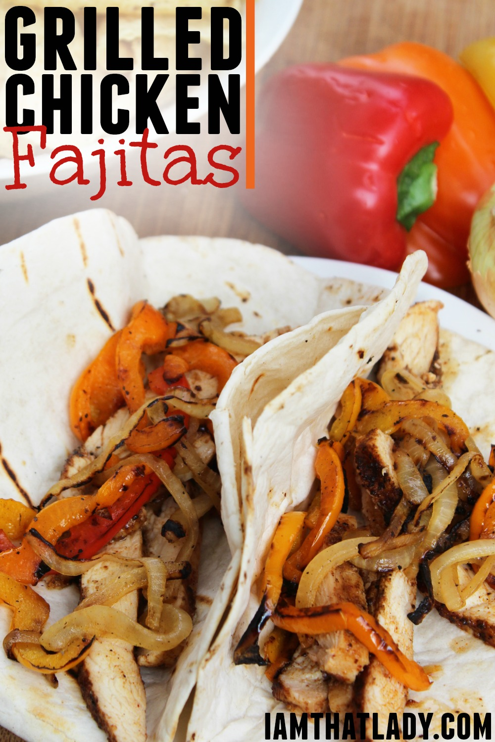 The best ever grilled chicken fajitas recipe easy and delicious chicken fajitas forumfinder Images