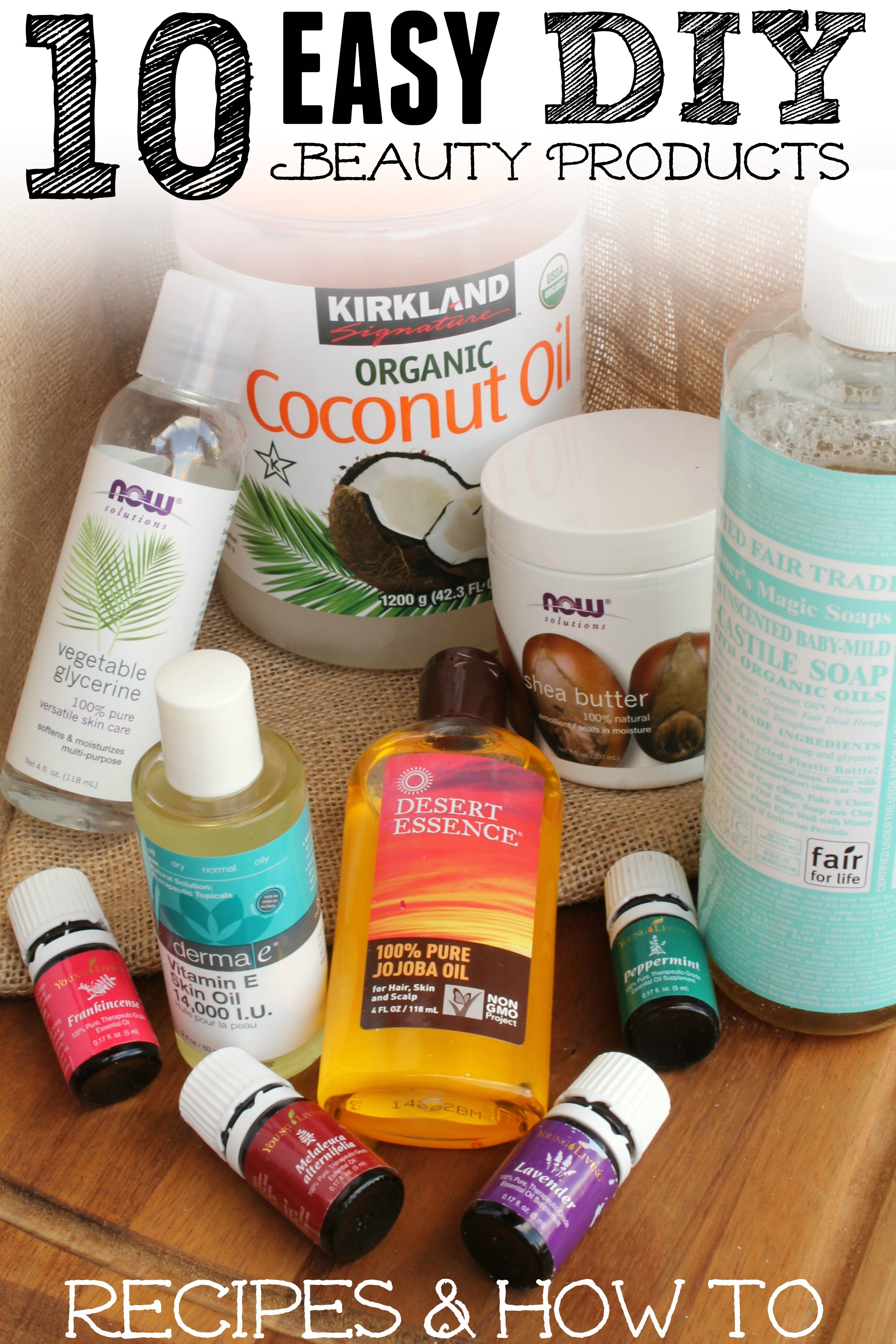 10 Easy DIY Natural Beauty Products - Lauren Greutman