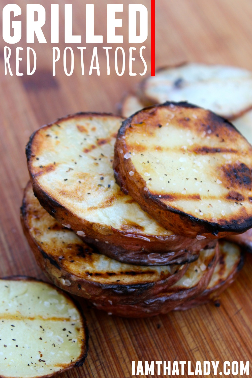 amazing grilled red potatoes
