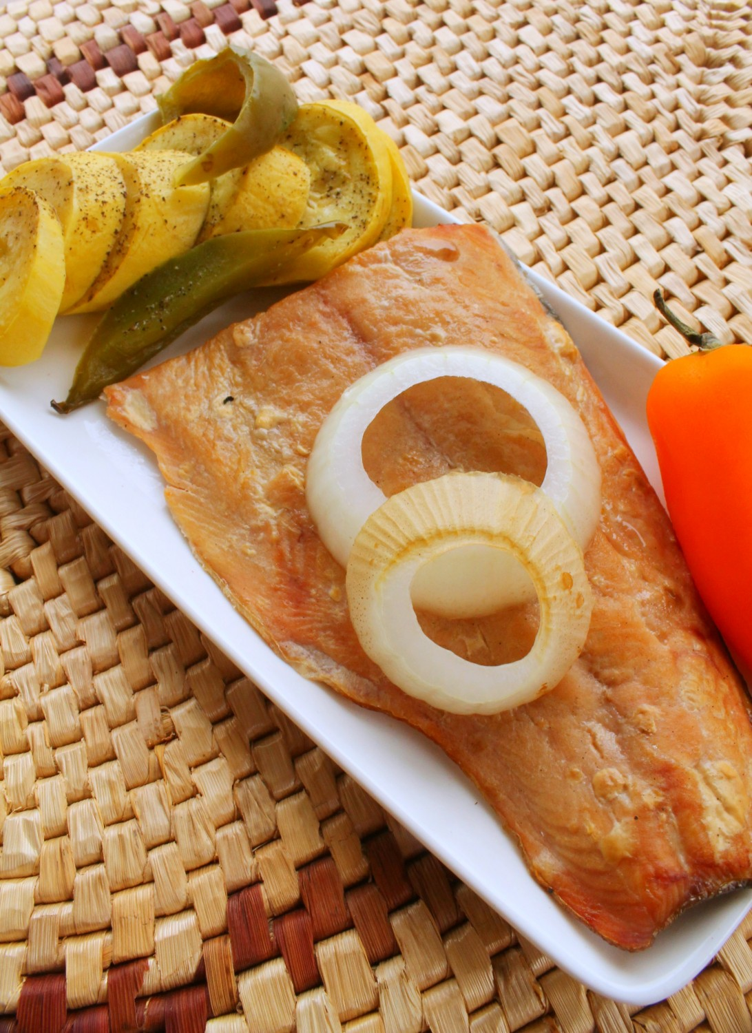 This grilled salmon is perfect for a light and healthy summer meal!
