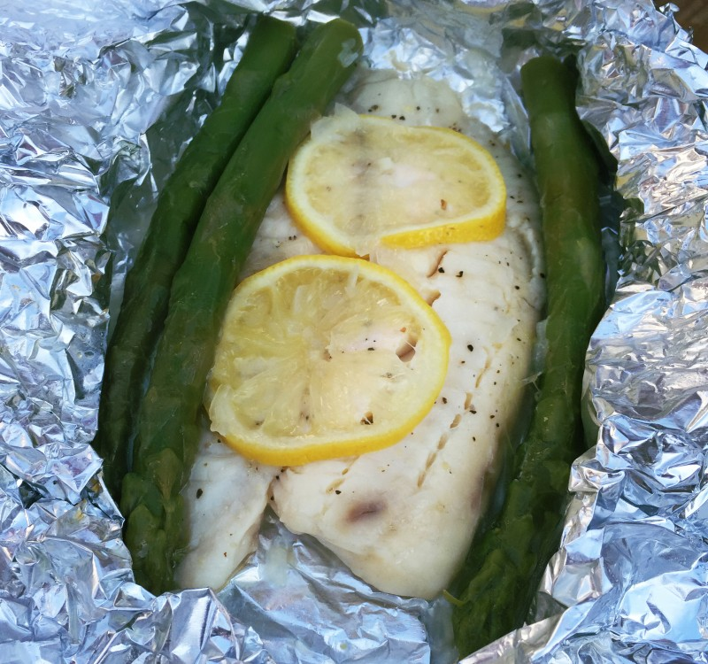 This grilled tilapia is the perfect light meal for the summer!