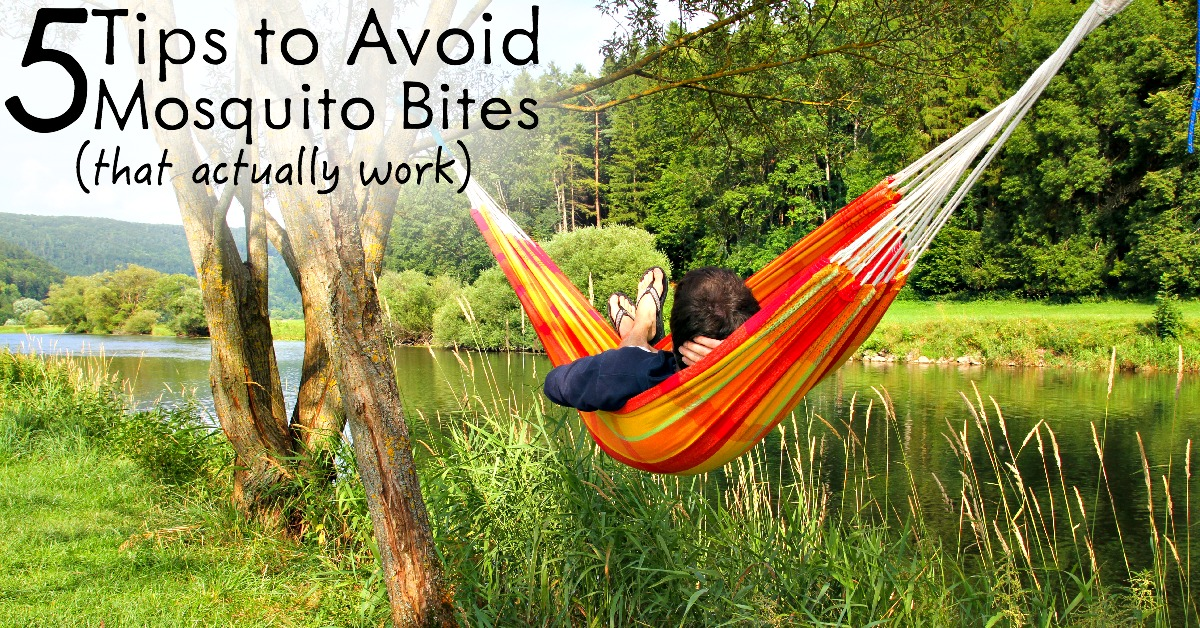 5 Tips to avoid mosquito bites FB