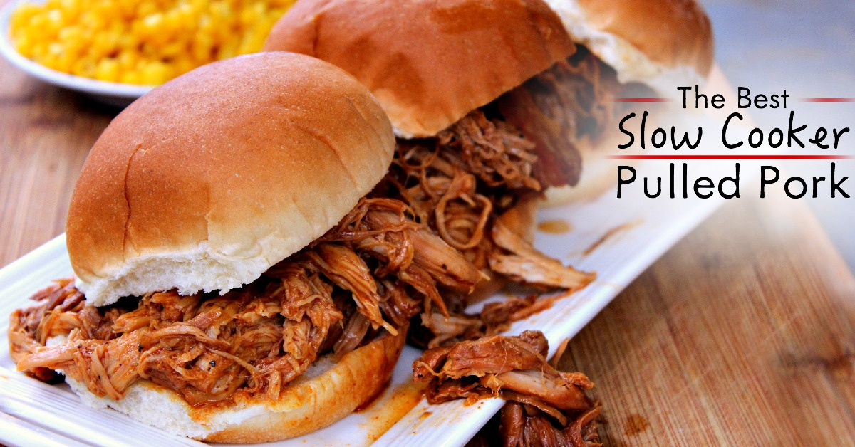 crockpot pulled pork can be just as as the smoked version