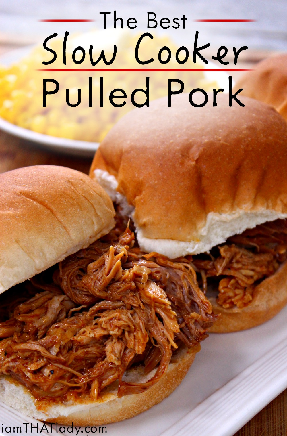 Pulled pork shoulder barbecue recipe
