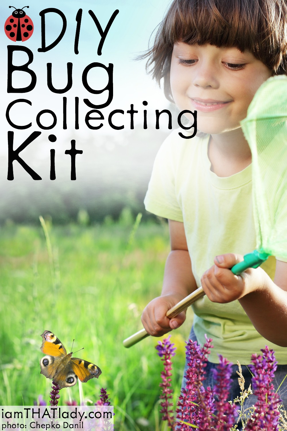 There's no time to get bored in summer when you put together this inexpensive and super fun DIY bug collecting kit! And every item is only $1!